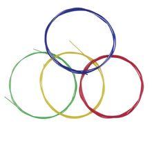 IRIN U104 Colorful Nylon Ukulele Strings 4pcs/set Replacement Part For 21 23 26 Inch Stringed Instrument  Ukulele Strings цена