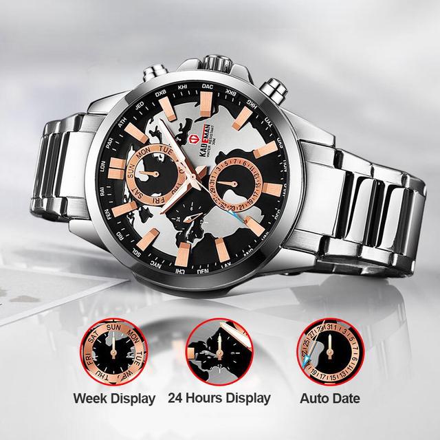 Reloj Deportivo de Acero Inoxidable