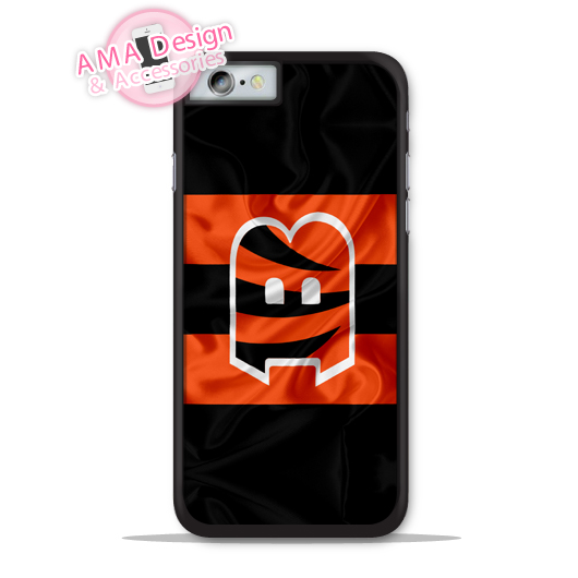 Cincinnati Bengals Football Flag Phone Cover Case For Apple iPhone X 8 7 6 6s Plus 5 5s SE 5c 4 4s For iPod Touch
