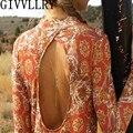 Boho Gold Beach Bikini Dress Wedding Bridal Turquoise Pendant Back Body Chain Backdrop Necklace Women 2016 Fashion Jewelry