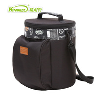 KinNet thermal lunch bag for women dry ice packs simple fashion oxford waterproof ice pack aluminum foil insulation cooler bags