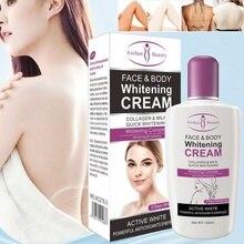 New Arrive Hot Beauty Face Body Whitening Cream For Dark Skin Bleaching Lotion 120ML