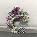 Ювелирные изделия застежка и брошь двухместное размещение ювелирных изделий дракон разъемы для ожерелье с кубической циркон бесплатная доставка