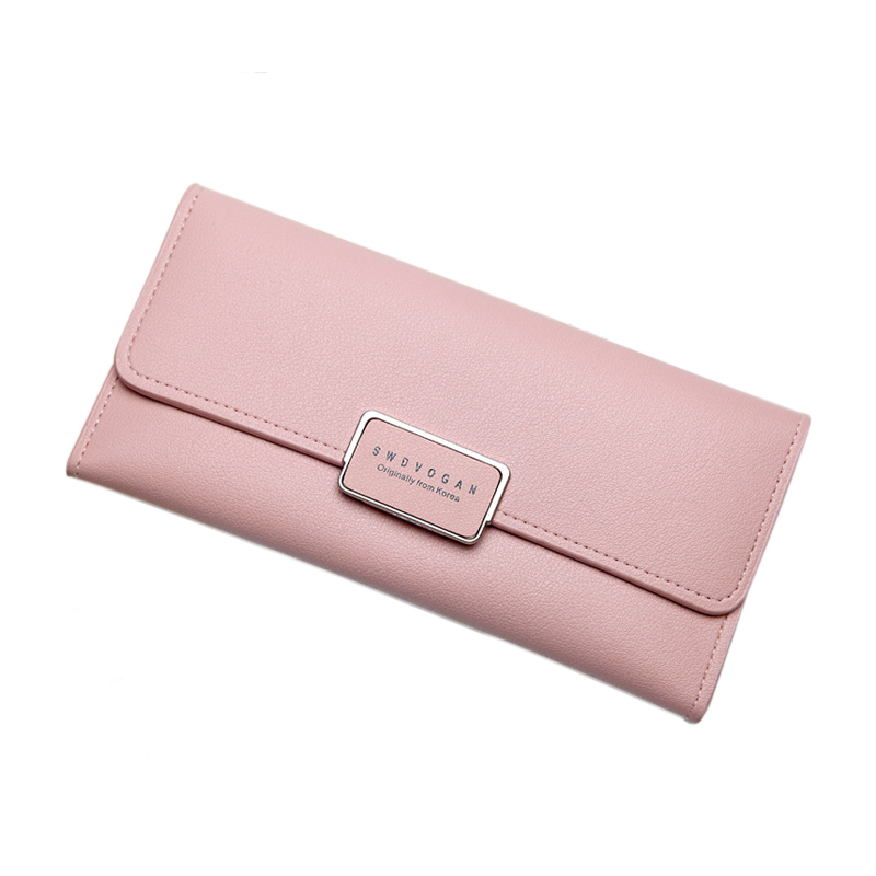 Women Wallet Leather Card Coin Holder Money Clip Long Phone Clutch Fashion Luxury Brand Cash Pocket 2017 Hot Sale Female Purse simple organizer wallet women long design thin purse female coin keeper card holder phone pocket money bag bolsas portefeuille