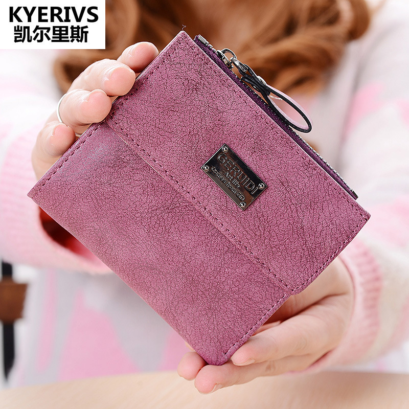 Fashion PU Leather Purse Women Wallet ID Card Holder Coin Purse Zipper Womens Wallets and Purses Brand Design Small Wallet Women dollar price women cute cat small wallet zipper wallet brand designed pu leather women coin purse female wallet card holder