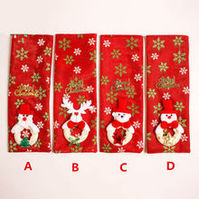 Newest Arrivals faroot Santa Pants Christmas Candy Bags Wine Stocking Bottle Gift Bag Xmas Decoration