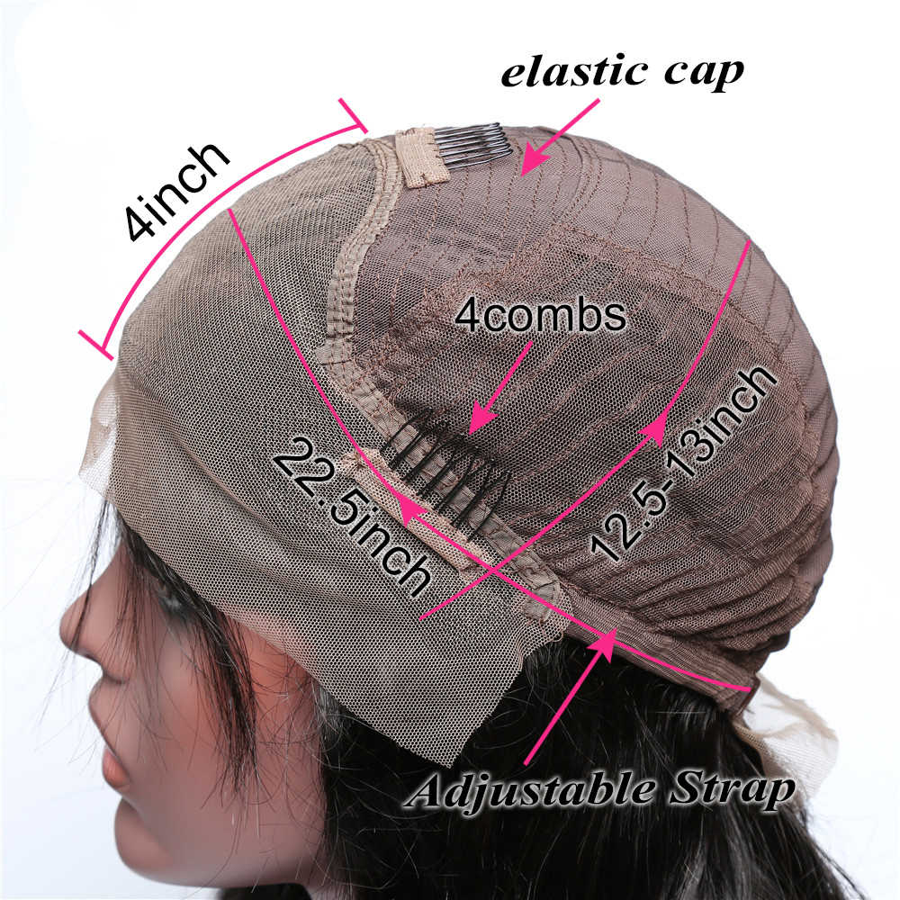 Kısa postiç 150% düz insan saçı 13x4 Dantel ön peruk Siyah Kadınlar Için 1b/613 613 sarışın 1b/Gri Dantel ön İnsan Saç Peruk