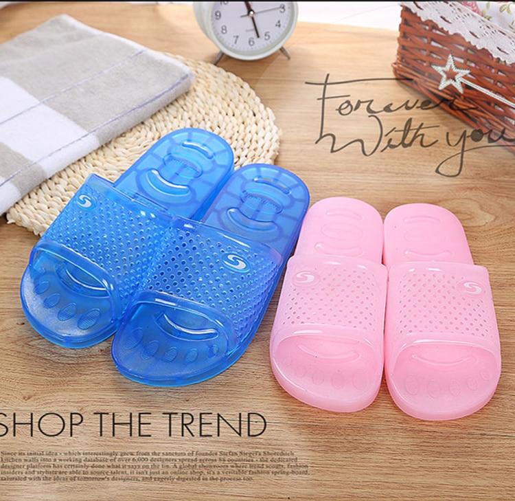 Bathroom Slippers Health Sandals Flip-Flops Beach Indoor Mute Girl's
