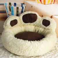 NICE Coffee Pink Color Super Luxury Dog Bed Kennel Cozy Soft Warm Pet Puppy Cat Dog