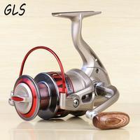 Full metal spool rocker arm 10BB 5.5:1 Rotate the spool Fish line wheel 1000 7000 series fishing reel fishing reel reel series metal spool -