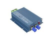 10 قطعة CATV FTTH استقبال AGC مايكرو SC APC دوبلكس موصل مع 2 منفذ الإخراج WDM ل PON FTTH OR20 CATV الألياف جهاز استقبال بصري