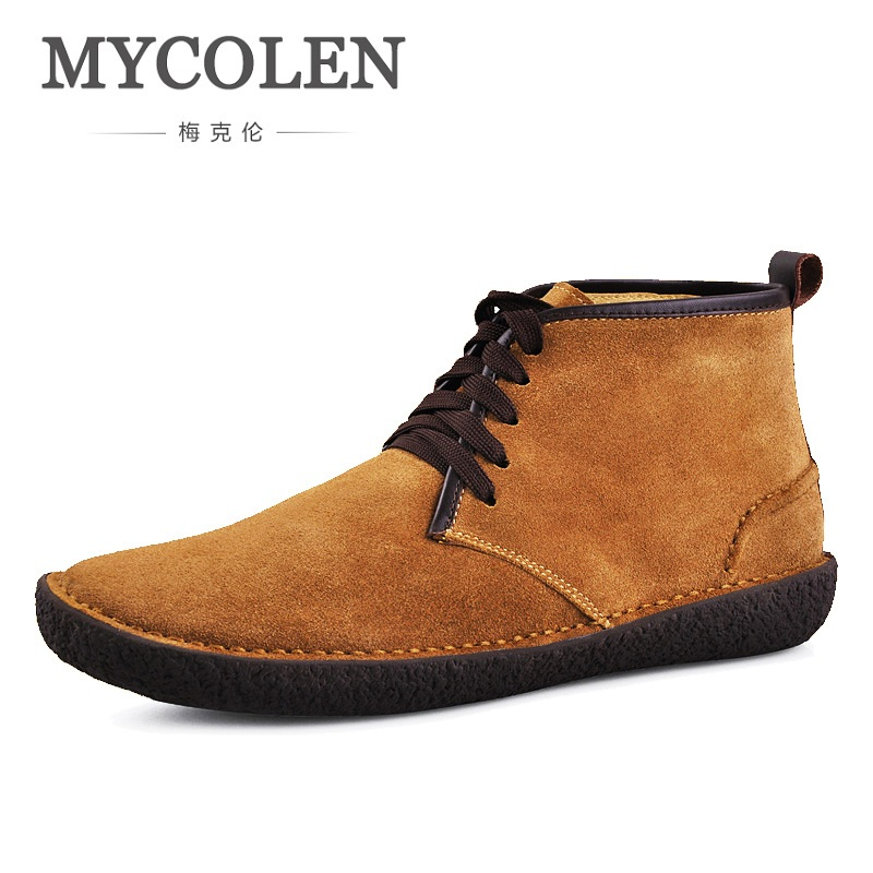 MYCOLEN Men Canvas New Spring Autumn Fashion Men's Shoes Male High Help Warm Shoes Casual Shoes Men Slip On Round Toe Flats цена