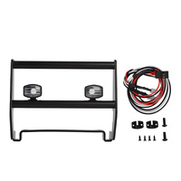 RC Metal Front Bumper with Led Light for Traxxas TRX4 Bronco 1/10 RC Crawler Car