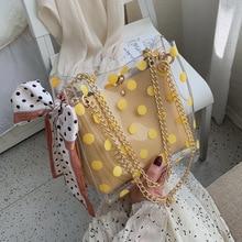 Summer Transparent Jelly Bag Tote Bags For Women 2019 Quality PVC Luxury Handbags Designer Ladies Beach Scarf Clear Shoulder Bag все цены