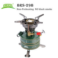 BRS 29B Camping Outdoor Stove Gasoline Stove Simple Oil Stove Non Preheating Fishing Picnic Furnace Boiler Cooker