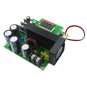 Image 2 - B900W入力8〜60ボルトに10 120ボルト900ワットdcコンバータ高精密led制御ブーストコンバータdiy電圧トランスモジュールレギュレータ