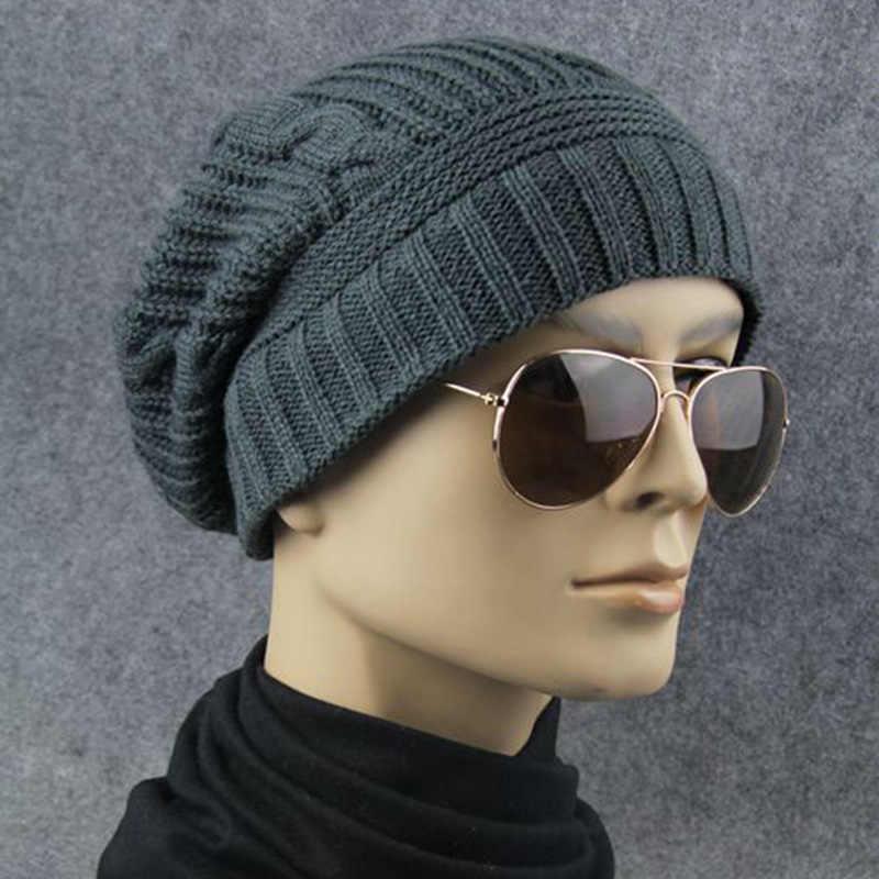 لطيف 2018 الشتاء قبعة حريمي للنساء Skullies Gorros كاب مطاطا للنساء الرجال العلامة التجارية الدافئة للجنسين الصلبة الأحمر محبوك قبعة