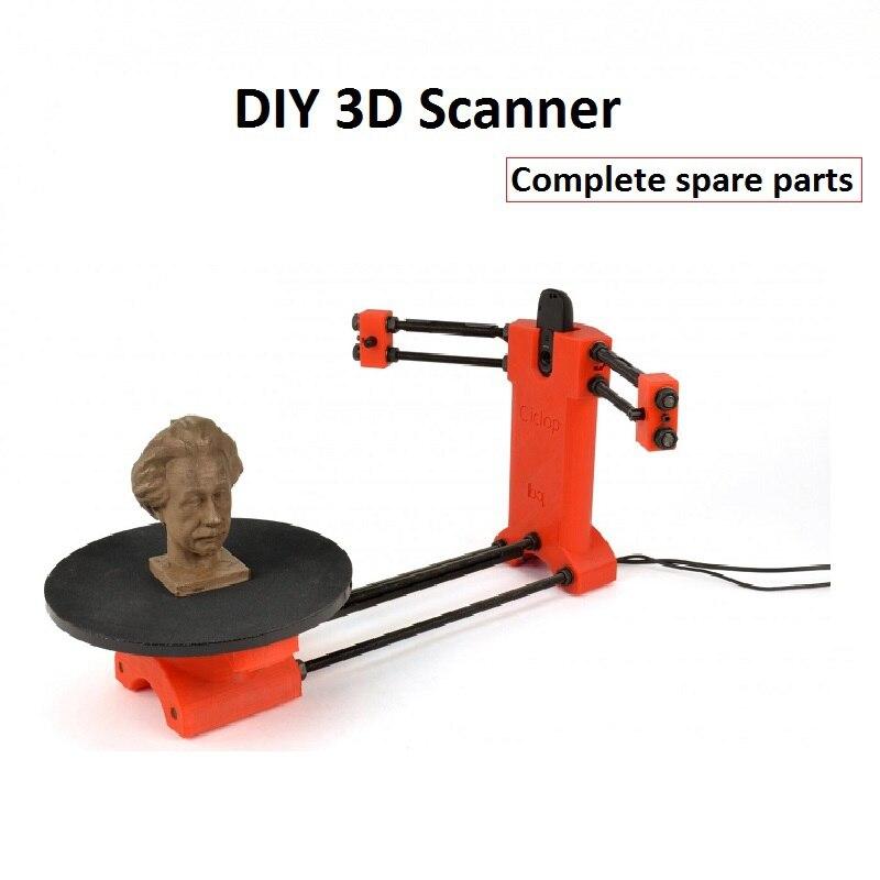 Kit de scanner 3D complet bricolage fait maison