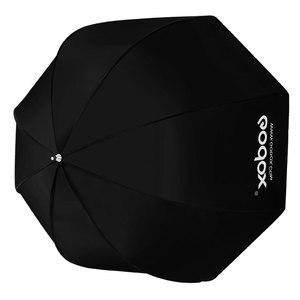 Image 4 - Godox 31.5in 80 cm Sekizgen Şemsiye Softbox 200 cm Işık standı Şemsiye Sıcak Ayakkabı Braketi Kiti Speedlite Flaş