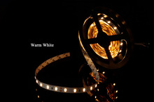 MARSWALLED High CRI 80+ LED Strip Light SMD5630 Super Bright Warm White Nonwaterproof 3000K-3500K