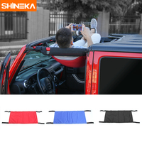 SHINEKA New Style Cloth Car Top Roof Hammock Cover Exterior Accessories for Jeep Wrangler 2007 2016 Car Styling