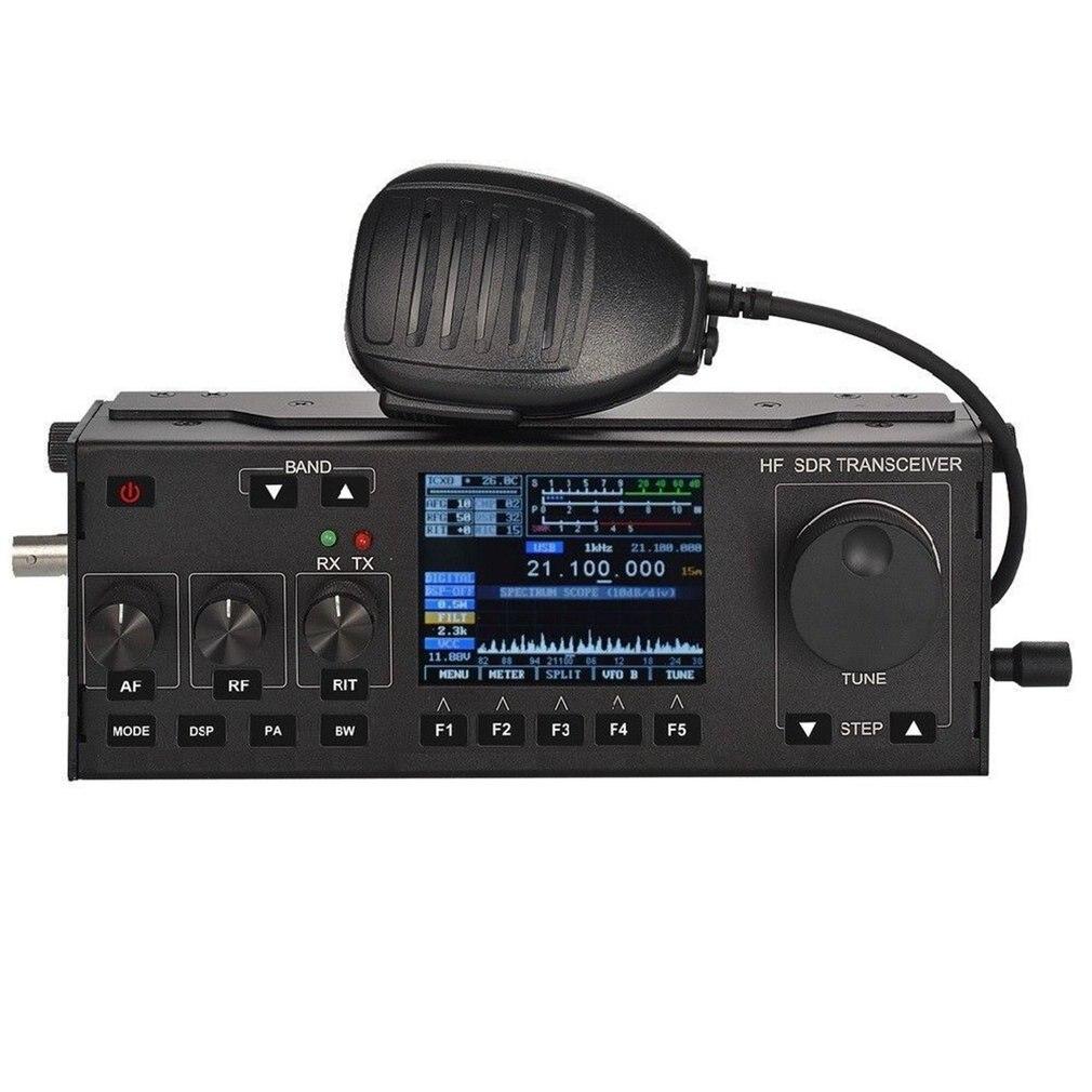 RS-928/RS-958 SSB HF SDR émetteur-récepteur 15 W puissance Radio Mobile RX: 0.5-30 MHz TX: toutes les bandes de jambon Instrument multifonctionnel