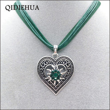 Fashion Oktoberfest Love Heart Pendant Necklace