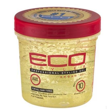 Ecoco Eco Styler Gel, Moroccan Argan Oil, 16 oz hair styler styling gel oz 16 super protein eco styling hair gel 473ml