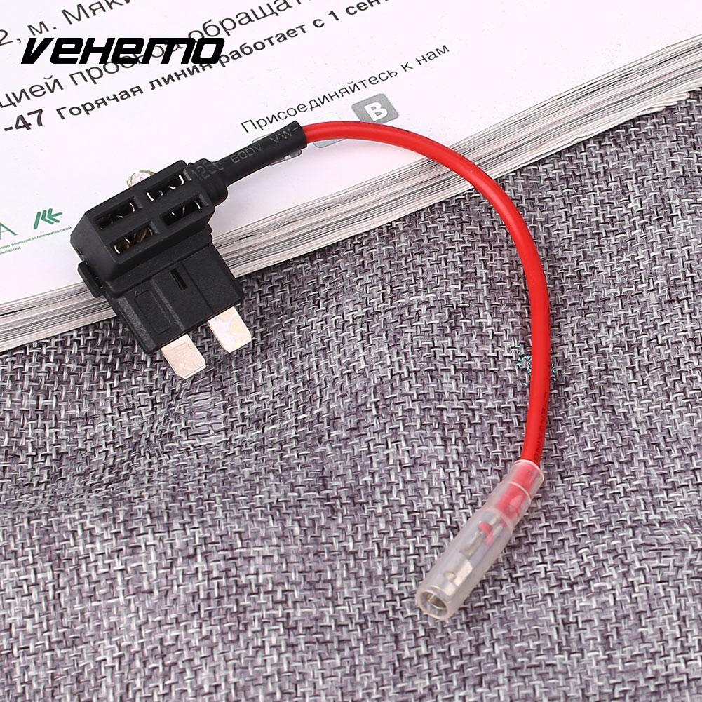 Vehemo Cars Blade Fuse Box Holder Medium Take Electrical Piggy Back Tap  With Red Wire-in Fuses from Automobiles & Motorcycles on Aliexpress.com |  Alibaba ...