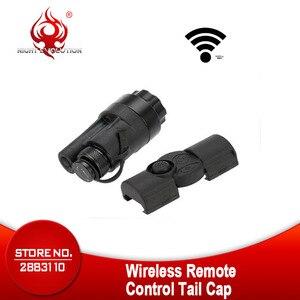Image 2 - Airsoft Tactical Accessories Rifle Gun Aluminum Wireless Remote Control Tail Cap Mount fit SF M951 M952V M961 M971 Flashlight