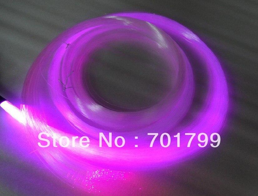 PS optical fiber kit;200pcs fibers x 1.0mm(diameter) x 4 meter long with one 16W RGB IR light engine