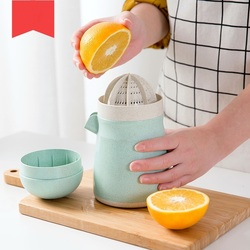 Instrukcja pomarańczowy sokowirówka sokowirówka domowego owoców sok z cytryny Mini maszyna do soku pomarańczowego w Wyciskarki od Dom i ogród na