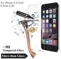 Pelicula de vidro temperado vidro protetor de tela para iphone 6 para apple iphone 6 mais vidro 4.7 ''. 3mm para iphone 4 5 5s 6 7 p