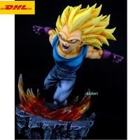10 Dragon Ball Statue Vegeta Bust Full Length Portrait Son Goku GK 1/6 Action Figure Collectible Model Toy BOX 25 CM Z443