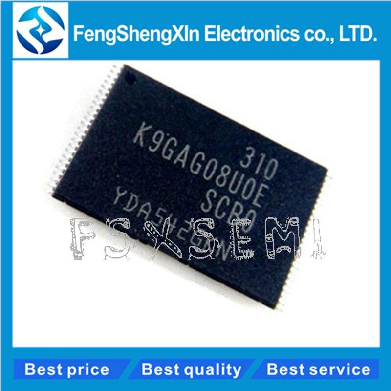 (5-10pcs)/lot K9GAG08U0E K9GAG08UOE-SCBO FLASH chip K9GAG08U0E-SCB0 TSOP-48