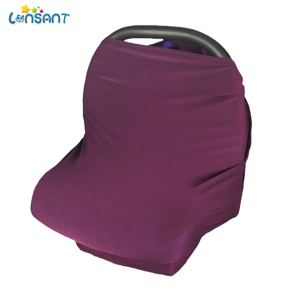 LONSANT Maternity Clothings Hot Sale CarSeat Cover Canopy Nursing Cover Scarf Baby Scarf Infant Stroller Cover Canopy Stroller