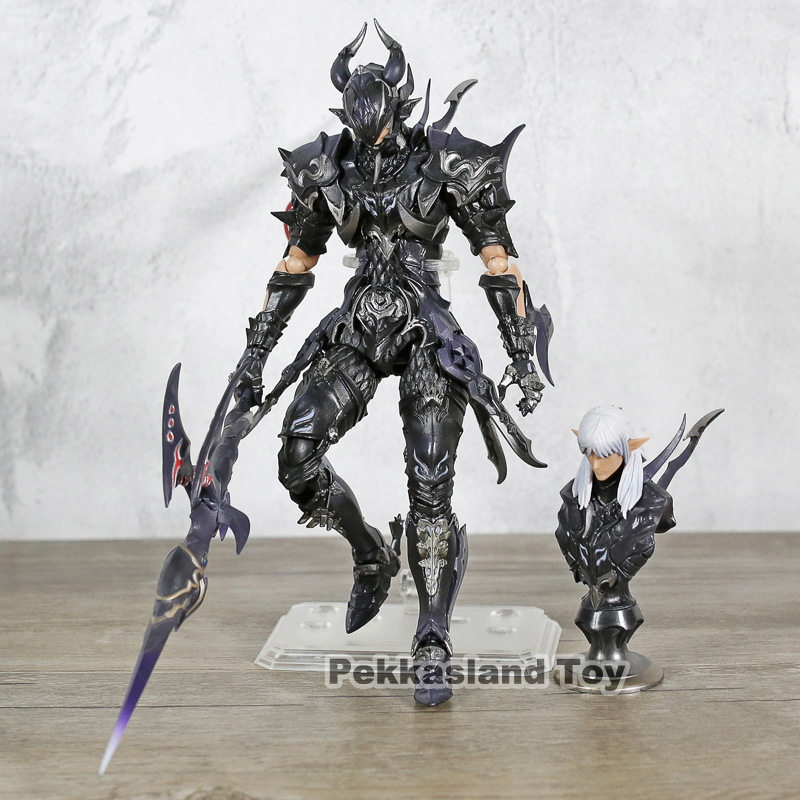 Final Fantasy XIV FF14 DRAGOON 7 Scale Action Figure KOs Bring Arts Estee two-Anne PVC Painted Doll Toys CollectibleFinal Fantasy XIV FF14 DRAGOON 7 Scale Action Figure KOs Bring Arts Estee two-Anne PVC Painted Doll Toys Collectible