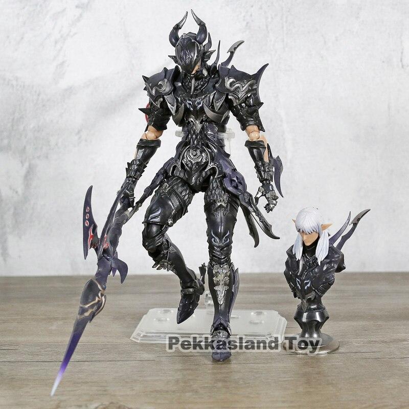 """Final Fantasy XIV FF14 DRAGOON 7 """"Schaal Action Figure Estee twee Anne PVC Geschilderd Pop Speelgoed Collectible-in Actie- & Speelgoedfiguren van Speelgoed & Hobbies op  Groep 1"""