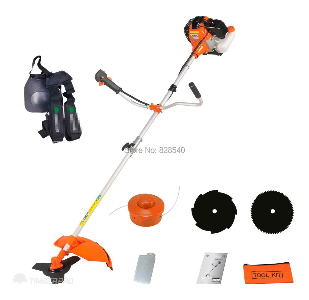 52cc Heavy Duty 4 in1 Petrol Strimmer Grass Trimmer, Brush/Bush Cutter Whipper Snipper , 3 Blades factory selling directly