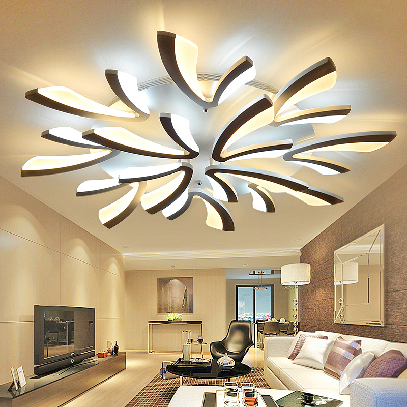 led ceiling light Living room lamp simple modern personality creative restaurant bedroom ceiling lamp focos led techo