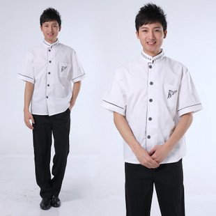 Restaurant Kitchen Uniforms short sleeve hotel uniforms restaurant uniforms kitchen clothes