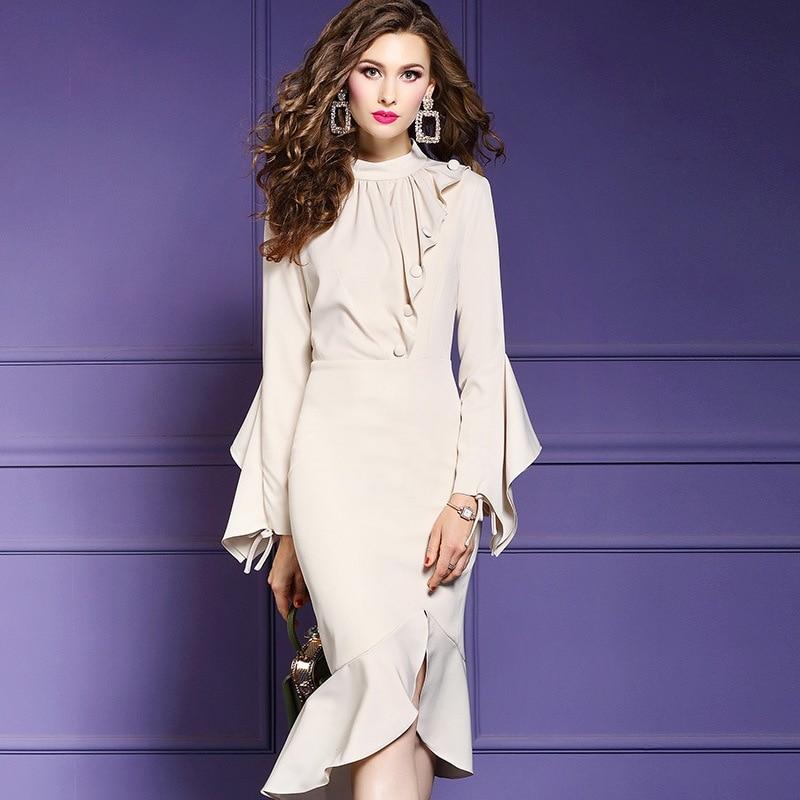 High street Package hip dress Spring 2019 new hot sale Women Asymmetrical Party Dress Plus Size