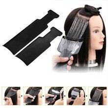 Окрашивание доска парикмахерские Профессиональные парикмахерские 35X8 см Высокое качество удобный, Безопасный инструмент для волос продукты для воздуха Liuhai гребень