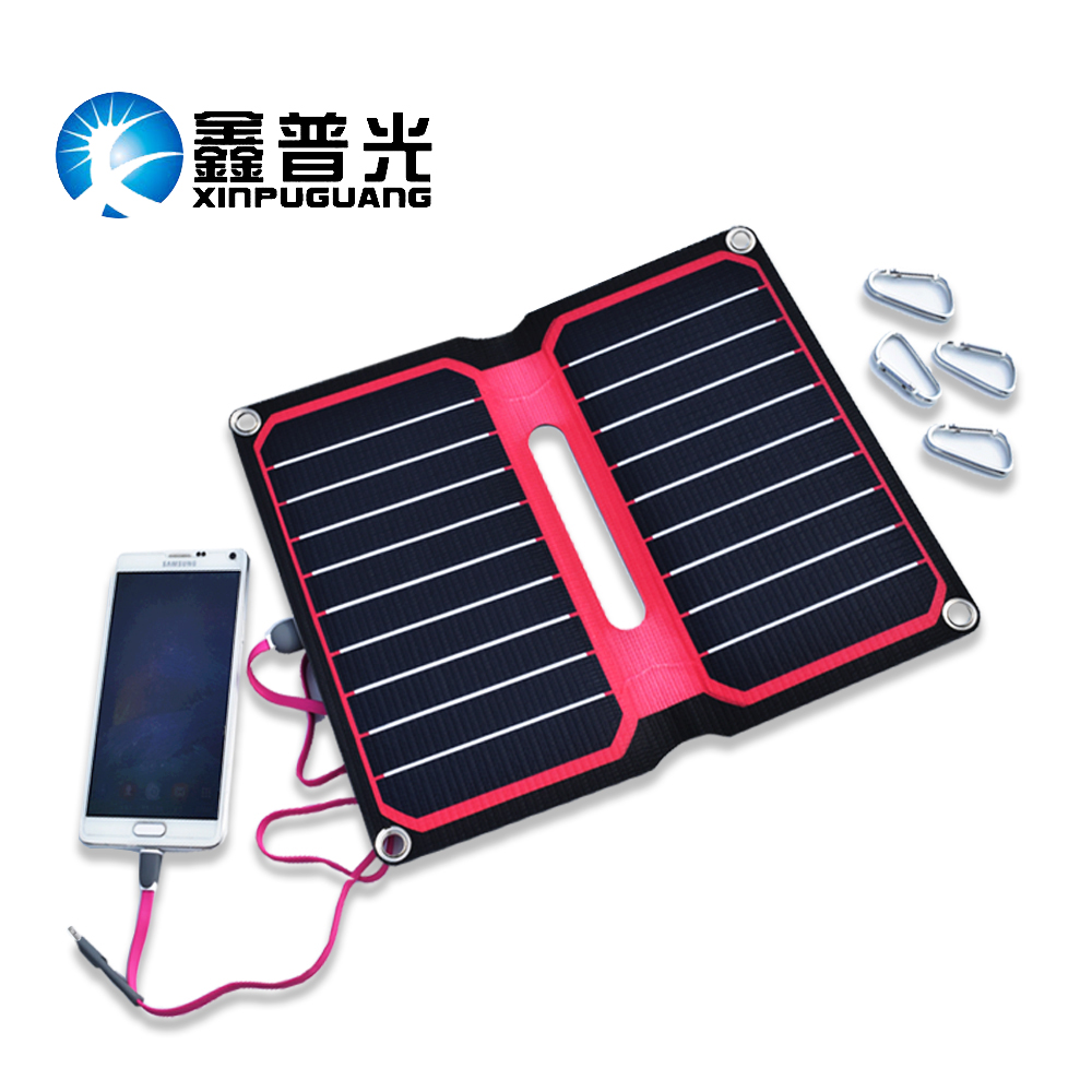 5V 10W Portable Solar Charger USB output Travel Solar Panel for Smartphone MP3 MP4 music player portable charger for cell phones