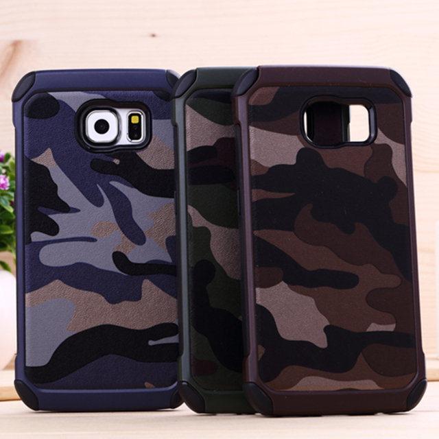 size 40 de53f af650 US $4.99 |J Camouflage Case for Samsung Galaxy S6 Case Camo Military Army  Back Cover Coque for Samsung Galaxy S8 S7 S6 edge Plus Case-in Fitted Cases  ...