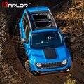 3d fibra de carbono risco capa proteção capô filme estilo do carro adesivos e decalques para jeep renegado acessórios