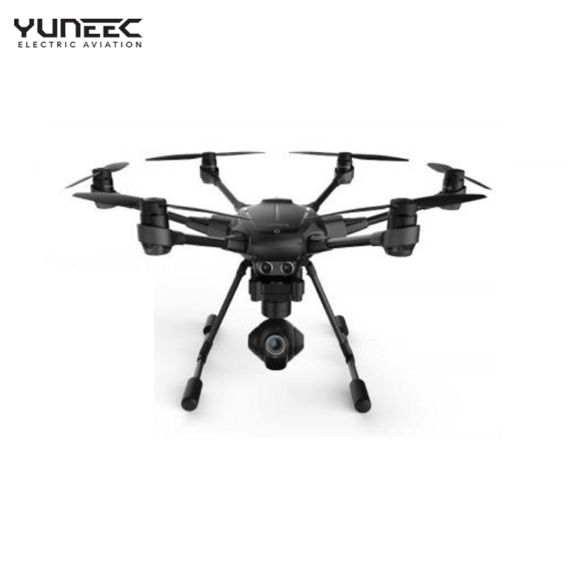 Newest 2016 Yuneec Typhoon H RC Drone with Camera HD 4K RTF RC Helicopter 3 Aixs 360 Rotation Gimbal vs DJI Phantom 4