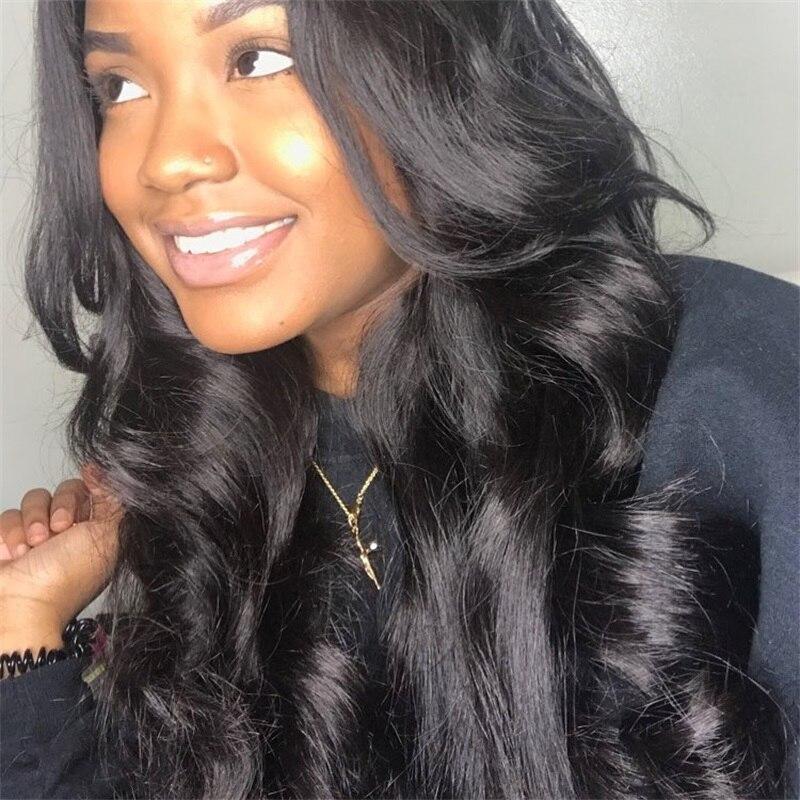 RosaBeauty 8A Human Hair Bundles Peruvian Body Wave Hair Weaves 3 Bundles/lots 100% Remy Hair Extensions Shipping Free 6