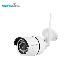 Wansview Outdoor 1080P/720P Wireless Security Camera Wi-Fi IP Surveillance Bullet Camera Waterproof Detection Alarm Onvif RTSP