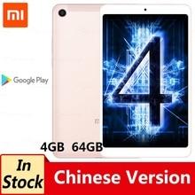Oryginalny Xiao mi mi pad 4 Tablet PC 4GB 64GB Snapdragon 660 octa core 8.0 cal 1920x1200 Android 8.0 13MP + 5MP aparat 6000mAh
